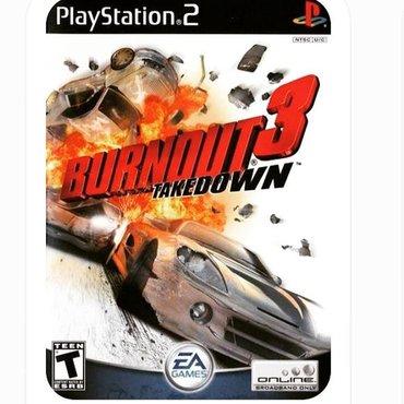 Burnout 3 Playstation 2 üçün.Ps2 ye aid istenilen oyun var