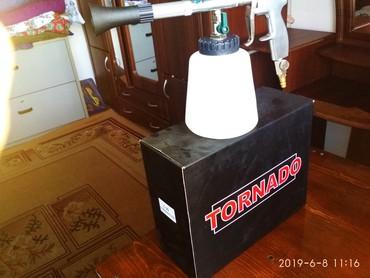 торнадор для химчистки авто салон в Кыргызстан: Продаю новый TORNADO модель Z-020 (оригинал ИТАЛИЯ) для химчистки