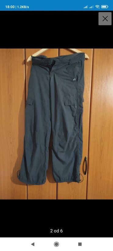 Suknjacine materijal - Srbija: Adidas planinarske pantalone. Materijal imate na etiketi. Neverovatno