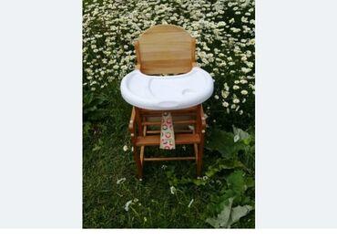 Детский стульчик для кормления. Точно такой в каробке новый