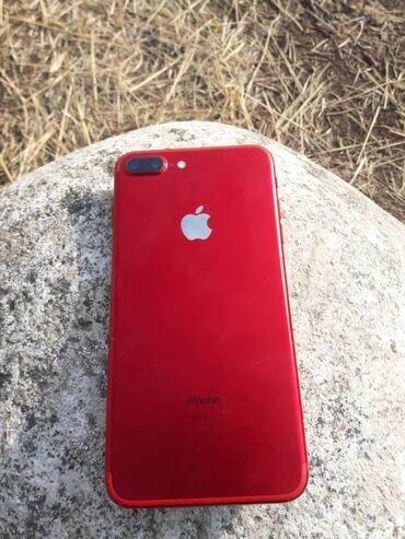 сколько стоит iphone 6 plus in Кыргызстан   APPLE IPHONE: IPhone 7 Plus   128 ГБ   Красный Б/У   Отпечаток пальца