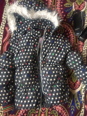 Куртка на девочку теплая Зима на 5 летгород Бишкек!состояние в Токмак