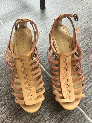 Italijanske kožne sandale bez oštećenja kao nove 39 br - Novi Pazar