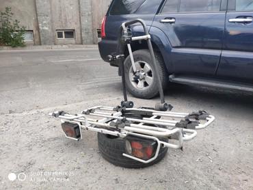 Дополнительный багажник на квадратный фаркоп с креплениями под