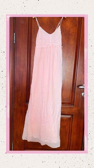 Duga haljina - Srbija: New Yorker (AMISU) baby roze haljina u L velicini. Haljina je veoma