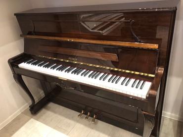 Çexiya istehsalı petrof markalı pianino - 3 pedallı yeni model