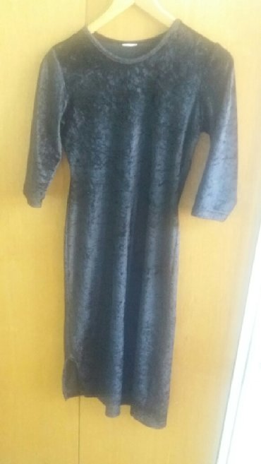 Jakna sitan plis - Srbija: Crna plis haljina vel m