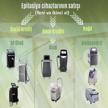 Bakı şəhərində En ustun lazer epilyasiya cihazlari