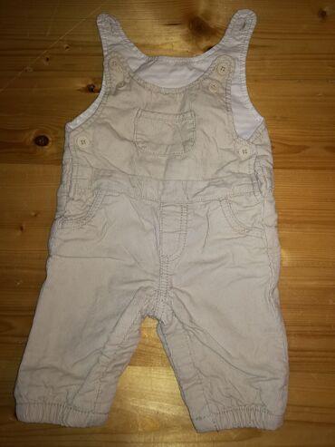 C&A pantalone na tregere za bebe, od somota, iznutra postavljene