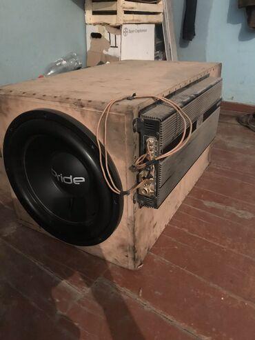 Автоэлектроника - Беловодское: Продаю сабвуфер. Усь momo d3000 саб pride hp 15