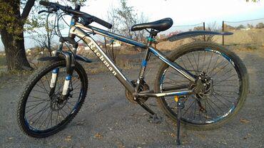 Другой транспорт - Rəng: göy - Бишкек: Продаю велосипед горный б/у 21 скорость в хорошем состоянии пр-во
