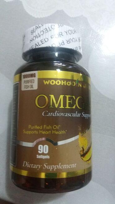 Омега - 3, рыбий жир из США в капсулах.В рыбьем жире содержится