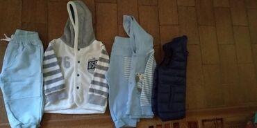 Paket odeće - Sivac: Paket za dečake Vel 74