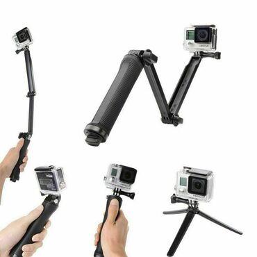 штатив для камеры в Кыргызстан: Монопод-штатив GoPro 3-Way Mount - Grip/Arm/Tripod•Универсальное