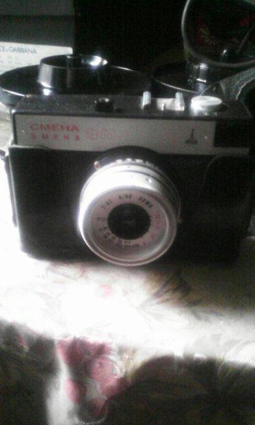 Продаю фотоаппарат СМЕНА с фотофспышкой ,за все прошу 2000сом . в Бишкек