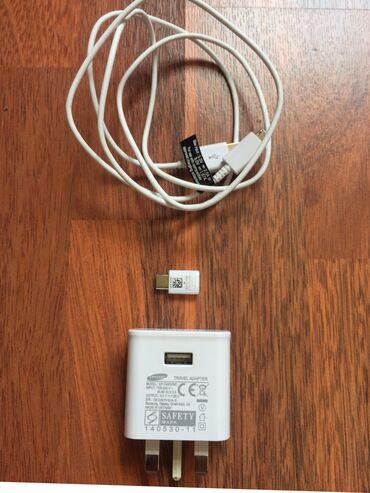 зарядное устройство для телефона samsung в Кыргызстан: Зарядное устройство Samsung original.  Приобретено в магазине «Мой Тел