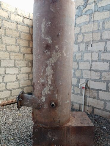 Kalonka cox tutumlu 400, litr qalin demir den gencededi