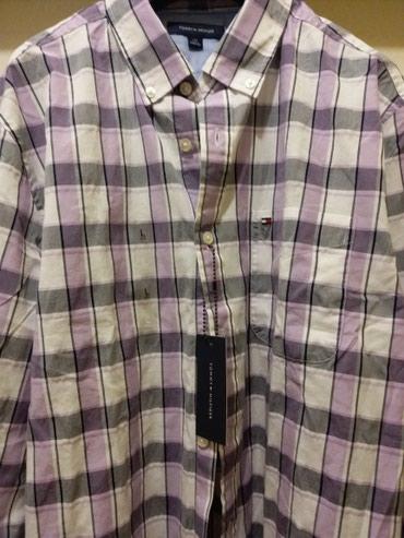 Evropska-usa - Srbija: * NOVO * Tommy Hilfiger muška košulja NOVO L veličina, kupljena u