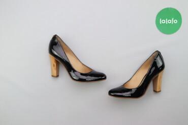 Жіночі лакові туфлі Jorge Bischoff   Матеріал шкіра Висота підбора: 8