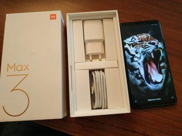 Xiaomi mi max 3 satilir. qara qlobal versiya 4/64gb в Bakı