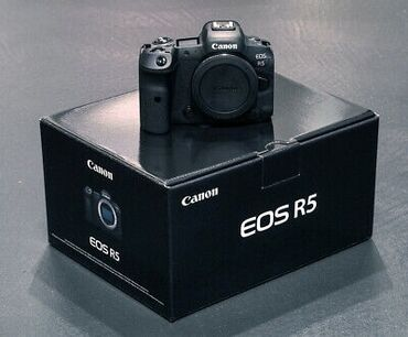 canon eos 5d mark ii в Азербайджан: Canon EOS R5 for sale at good price