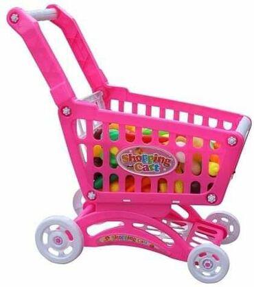 Kolica za lutke - Srbija: Market kolica za devojčice + 15 dodataka1.800rsd🛍Market kolica su