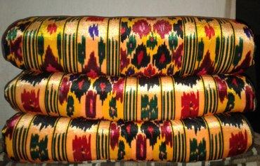 курпача из велюра. новые. размер: 2метра на 70 см. цена указана за в Душанбе