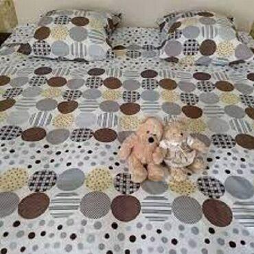 простынь в Кыргызстан: Туркменское постельное белье 1,5 и 2х спалки.100% хлопок. Размеры