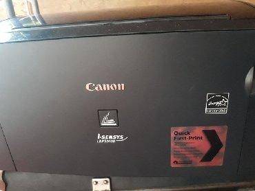 canon i sensys lbp 3010b в Кыргызстан: Принтер Canon I-sensys LBP3010B состояние отлично, USB кабел, Питания