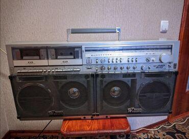 Магнитофон sharp gf-777Настоящая легенда 80-х, переносной кассетный