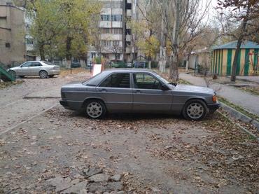 Mercedes-Benz в Кыргызстан: Mercedes-Benz 190 (W201) 2 л. 1989