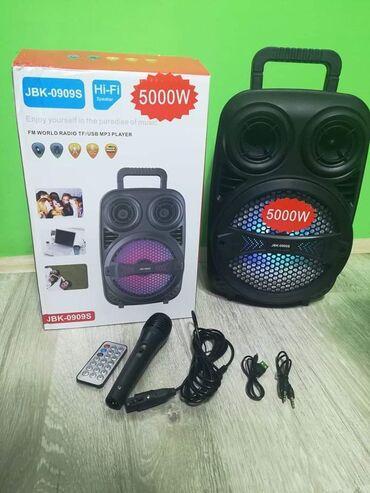 Tv smart - Srbija: Veliki Blutut Zvucnik Karaoke JBK-0909S sa mikrofonom i daljinskimSamo