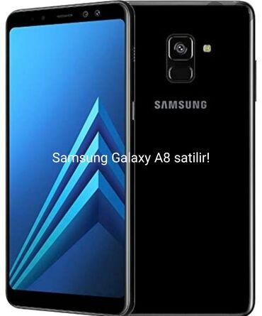 Samsung - Bakı: Yeni Samsung Galaxy A8 64 GB qara