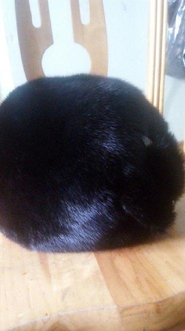 Головной-убор-норковые - Кыргызстан: Норковая шапка 55-56 размера. Почти новая. для худеньких дам,п.ч