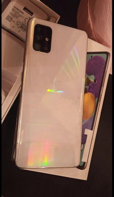 Samsung - Bakı: Samsung A51 barter var baxir telefona whatsapda yaza bilersiz