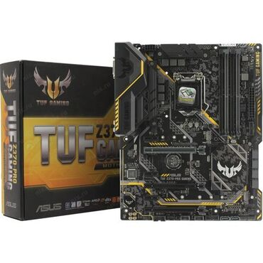 Мат. плата ASUS TUF Z370-PRO GAMING (RTL) LGA1151 3xPCI-E DVI+HDMI