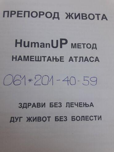 NAMESTANJE ATLASA-humanUP-DONOSI VISOK IMUNITET KOJI JE JEDINA ZASTITA
