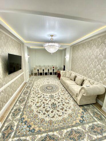 Продажа квартир - Бишкек: Элитка, 4 комнаты, 119 кв. м Теплый пол, Бронированные двери, Видеонаблюдение