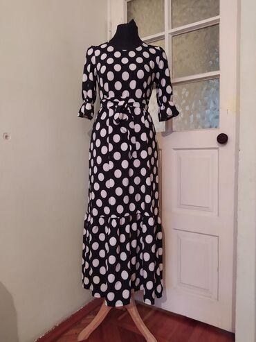 Женская одежда в Араван: Очень красивые платья в крупный горошек. новые.всего два платья