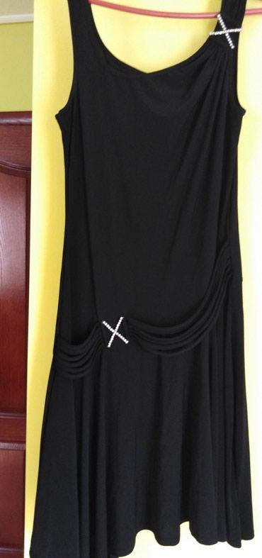 Crna haljina 38. Nije nosena. Lepse izgleda nego na slici ima preko - Ivanjica