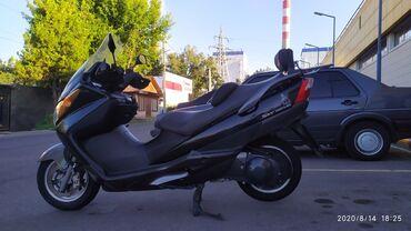 Suzuki - Кыргызстан: Продаётся отличный Макси Скутер Suzuki SKY Wave 400 куб 2003года Инже