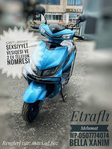 Motosiklet və mopedlər - Azərbaycan: Kredi̇t veri̇li̇r✔Bashqa modellerimizde var baxmag ve etrafli melumat