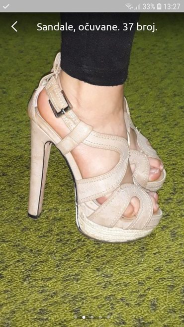 Sandale veoma očuvane! Broj 37 - Loznica