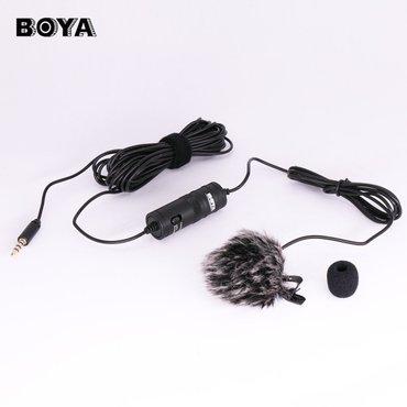 """Bakı şəhərində Yaxa mikrofonu .Boya """"omni-directional"""" yaxa mikrofonu kondensatorla"""