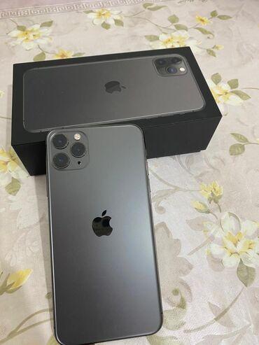 наушники jvc в Кыргызстан: Б/У IPhone 11 Pro Max 256 ГБ Серый (Space Gray)