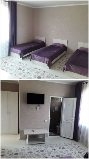 Отдых на Иссык-Куле - Чолпон-Ата: Гостевой дом на берегу озера. Комнаты уютные и чистые. Иссык Куль, г