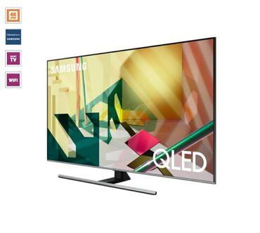 eken ultra hd в Азербайджан: Televizor Samsung QE65Q77TAUXRU QLEDEkranın ölçüsü 165 sm 4K ULTRA HD