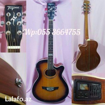 Tagima Dallas - - Elektro akustik gitara. Üstündə çexol və 3 metr şnur в Баку
