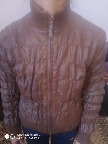 Личные вещи - Кок-Ой: Кожыный весеный куртка 44размер