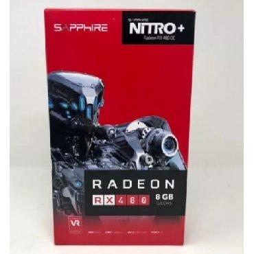 тв карту в Кыргызстан: Продаю Видео карту Radeon Rx 480 Nitro+ Oc 8Gb Gddr5. Sapphire Pci-Ex